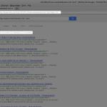 L'avant dernière page indique environ 210 résultats